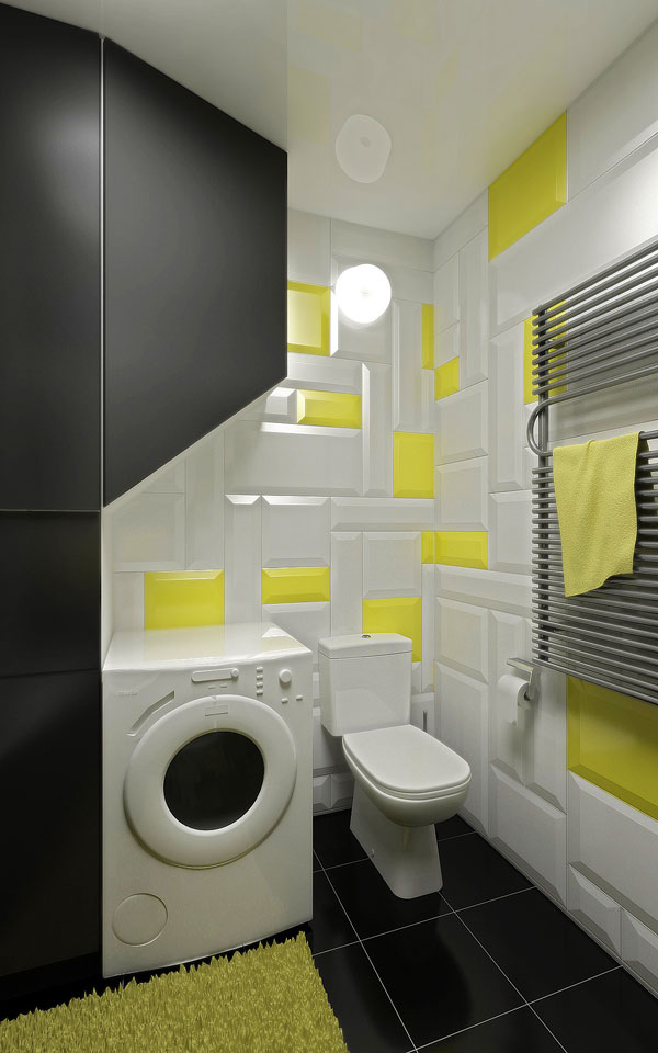 space interior design of bathroom