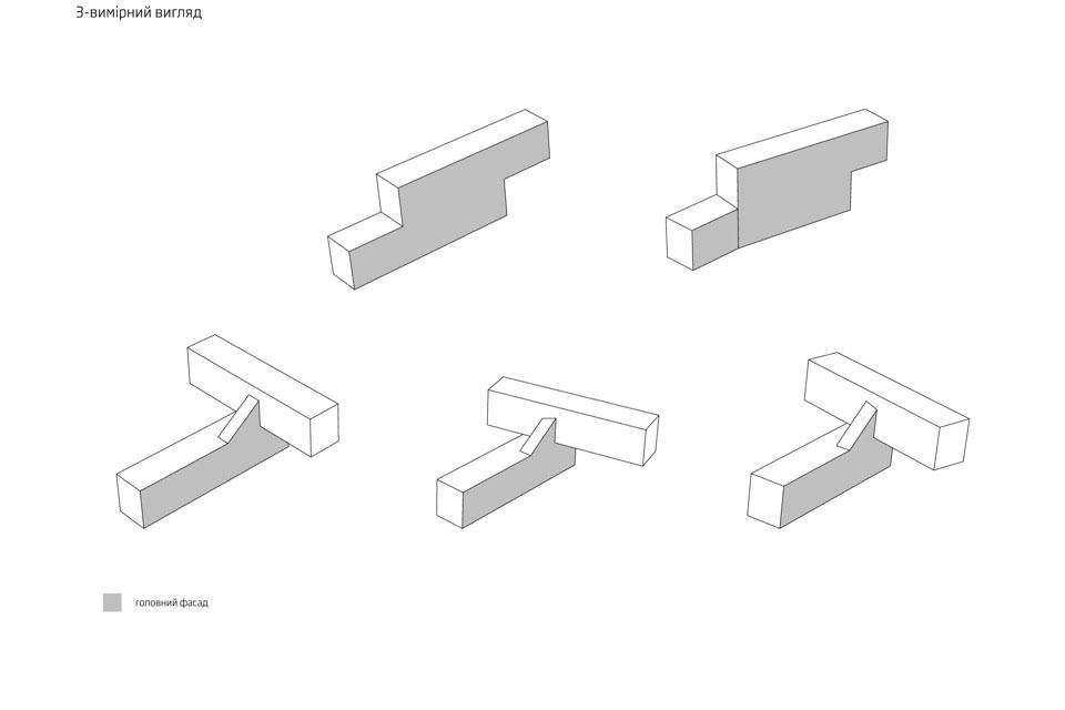 mobile sushi bar design 3d view