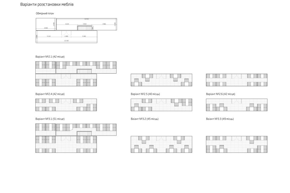 sushi restaurant architecture furniture plan