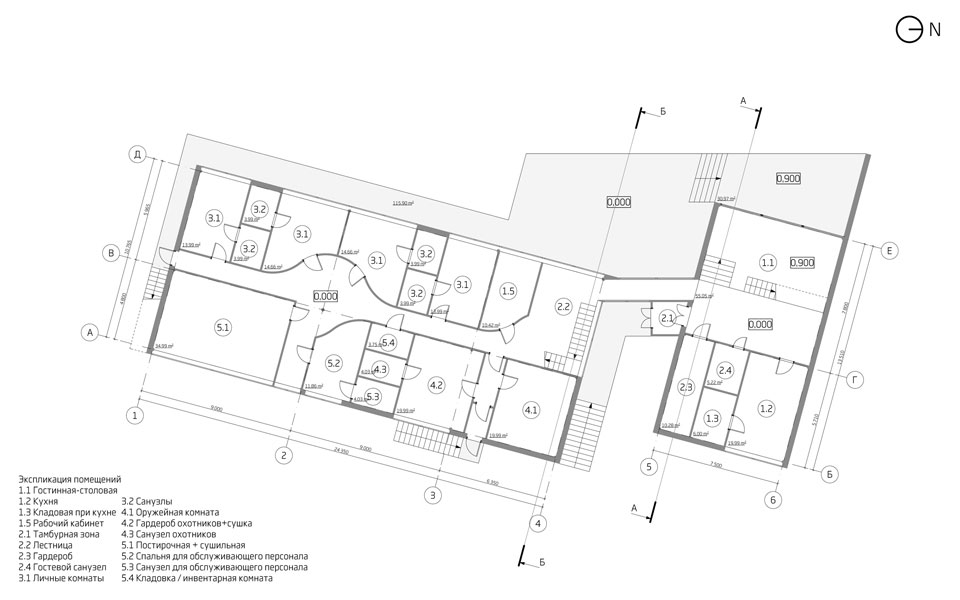 ground floor plan - architectural proposal