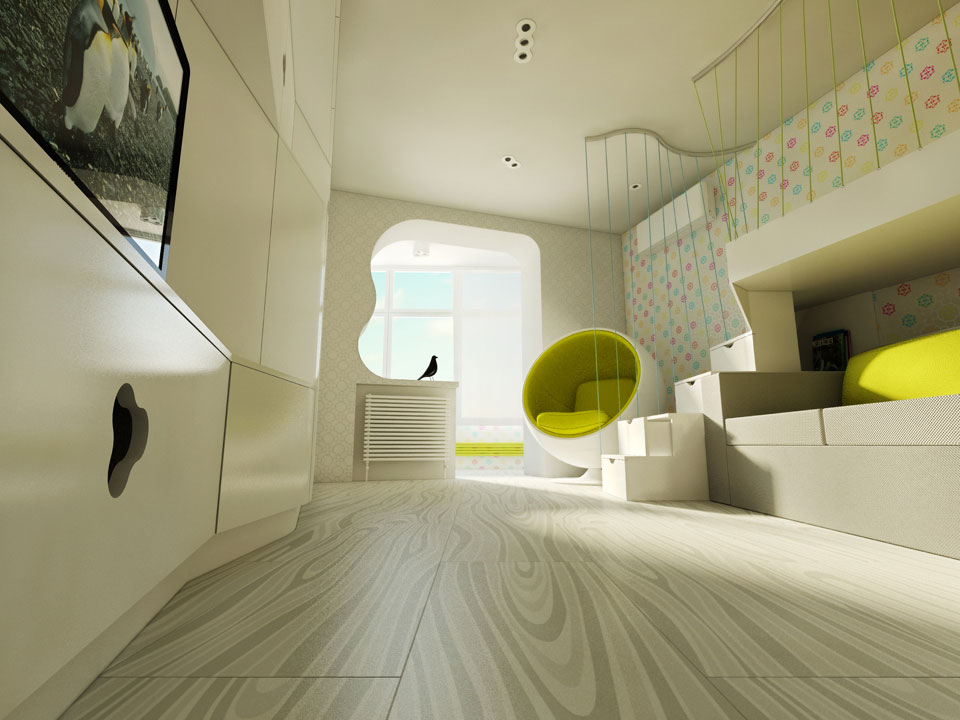 girls room interior design kyiv