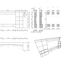 module furniture drawing - parametric interior