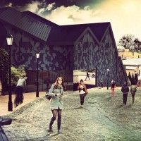 Kyiv Culture Space on Andriivskyi Descent Architectural Concept