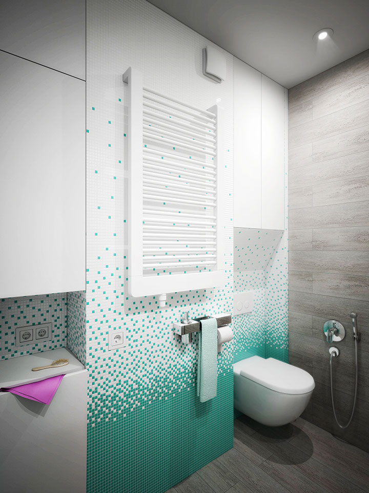bathroom interior design in comfort town kyiv