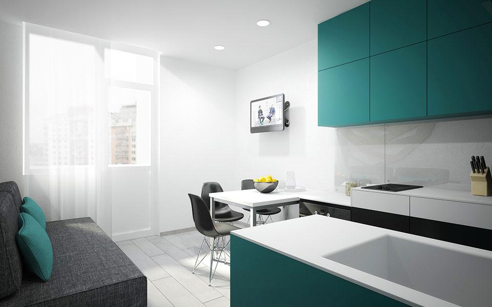 flat design liko-hrad kyiv