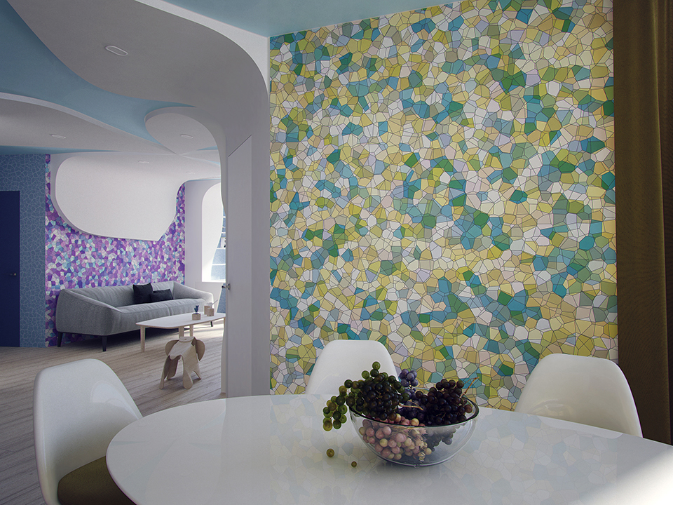 interior Voronoi digram