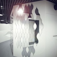 parametric design kyiv - office interior