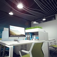 Dipping into Work. Office parametric design, Kyiv, Ukraine