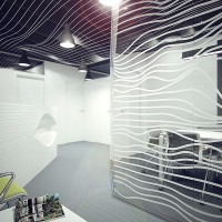 office interior kyiv - parametric design