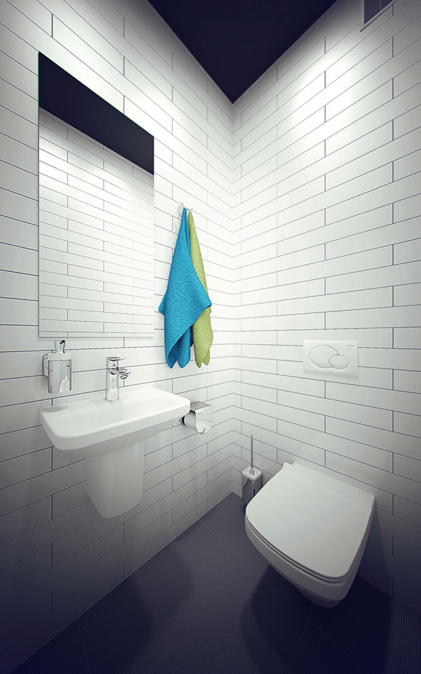 toilet design - office interior kyiv