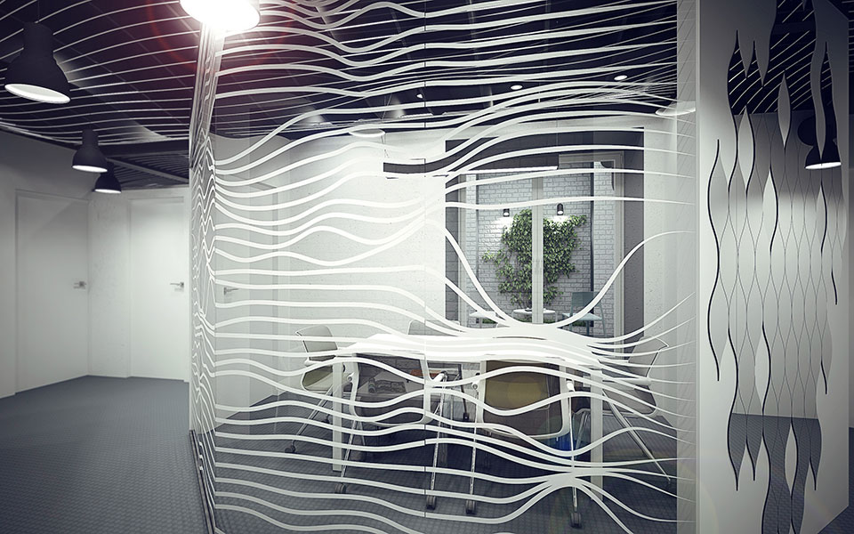 parametric interior design - office kyiv