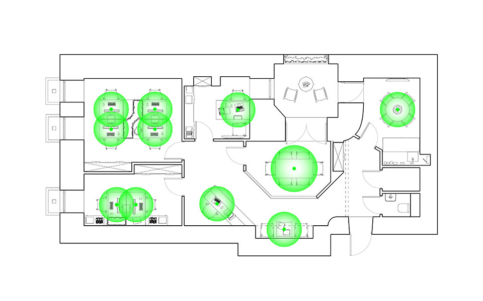 office kyiv ukraine - interior plan
