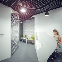 parametric recepcion design - office kyiv