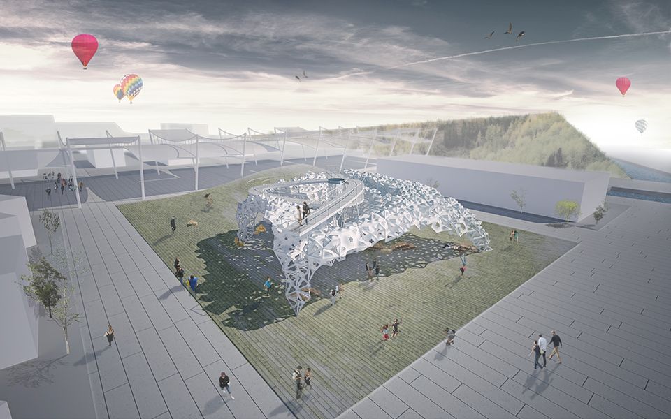 pavilion of ukraine expo 2015 in milan