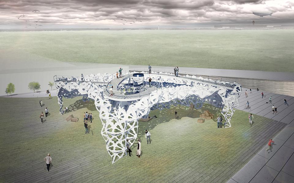 ukraine pavilion expo - parametric architecture