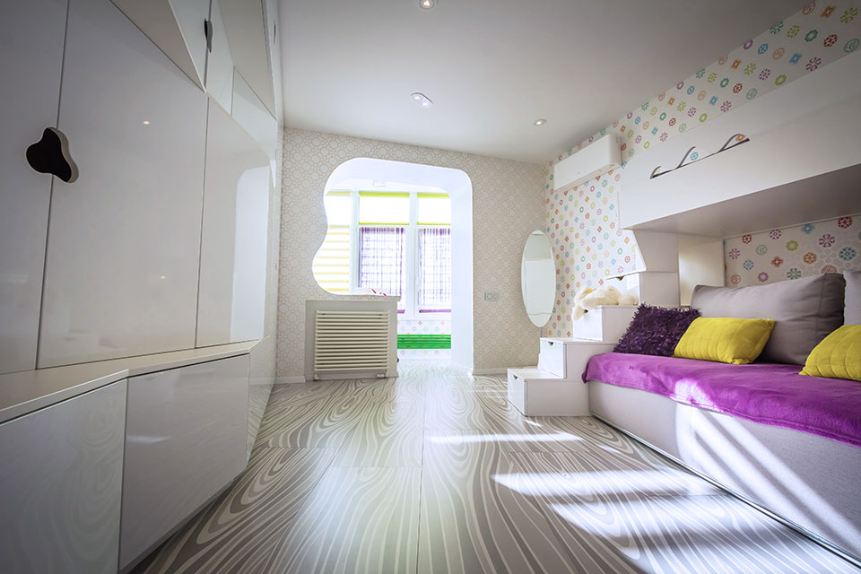 parametric design of child room in kyiv