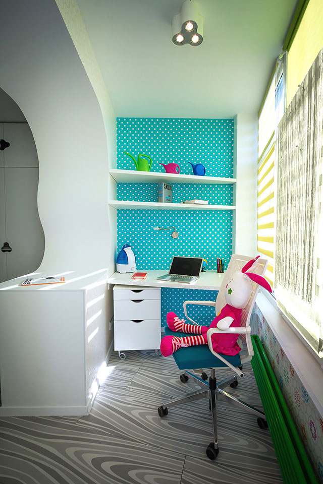 parametric interior - child room design
