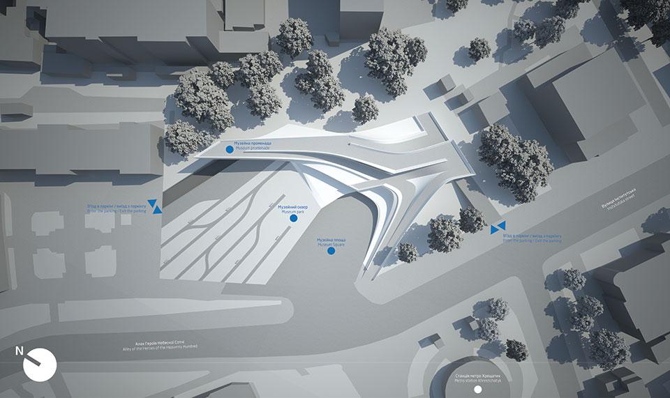 maidan museum architecture masterplan ukraine