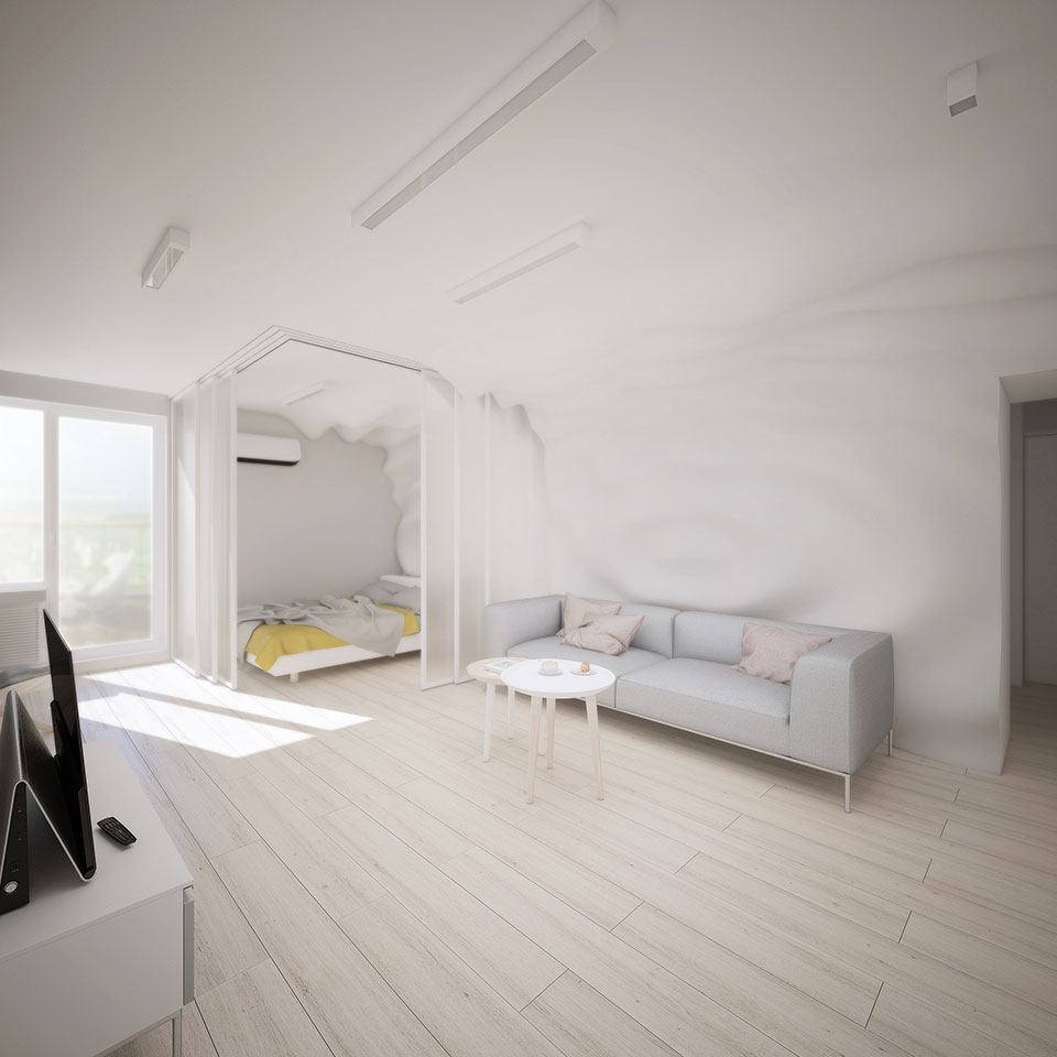 kyiv interior - contemporary apartment design