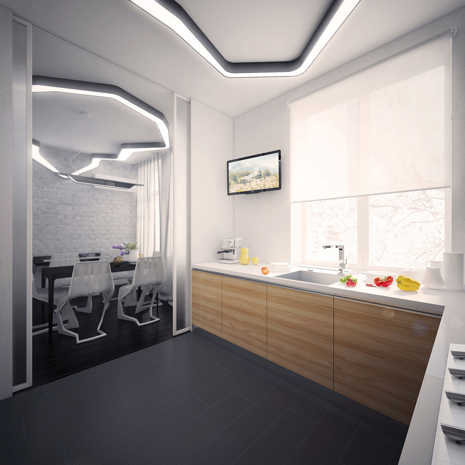 moscow kitchen design - computational architecture