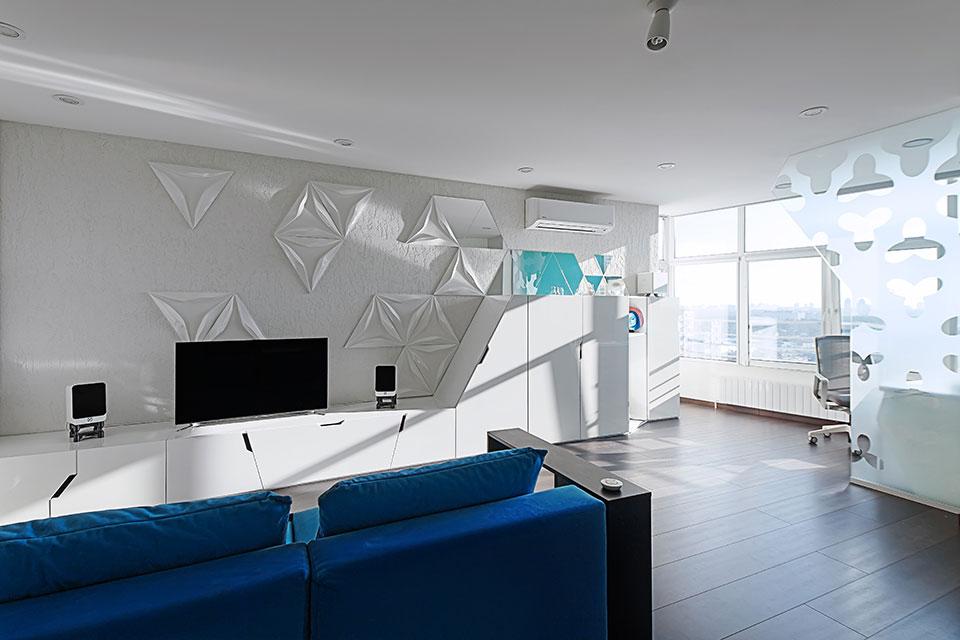 sofa island - kyiv parametric apartment