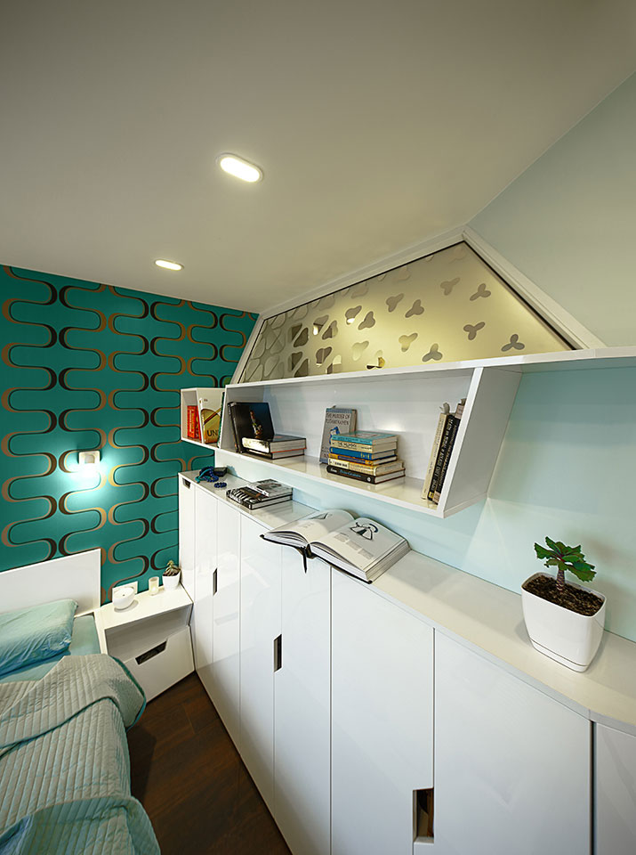 modern furniture in interior design
