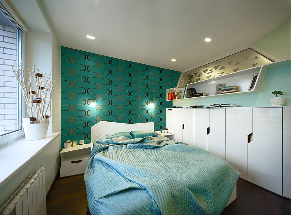 luxury bedroom parametric interior design
