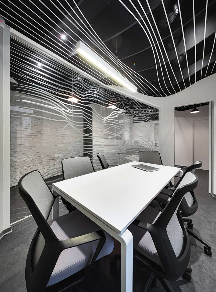 meeting room in parametric office Kyiv