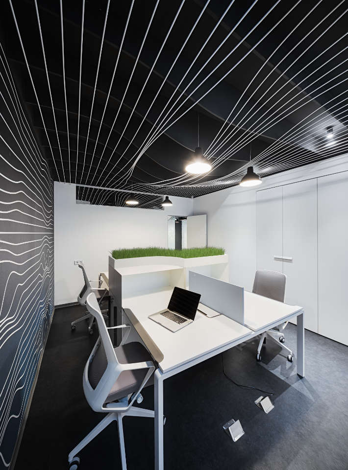 parametric office design in Kyiv Ukraine