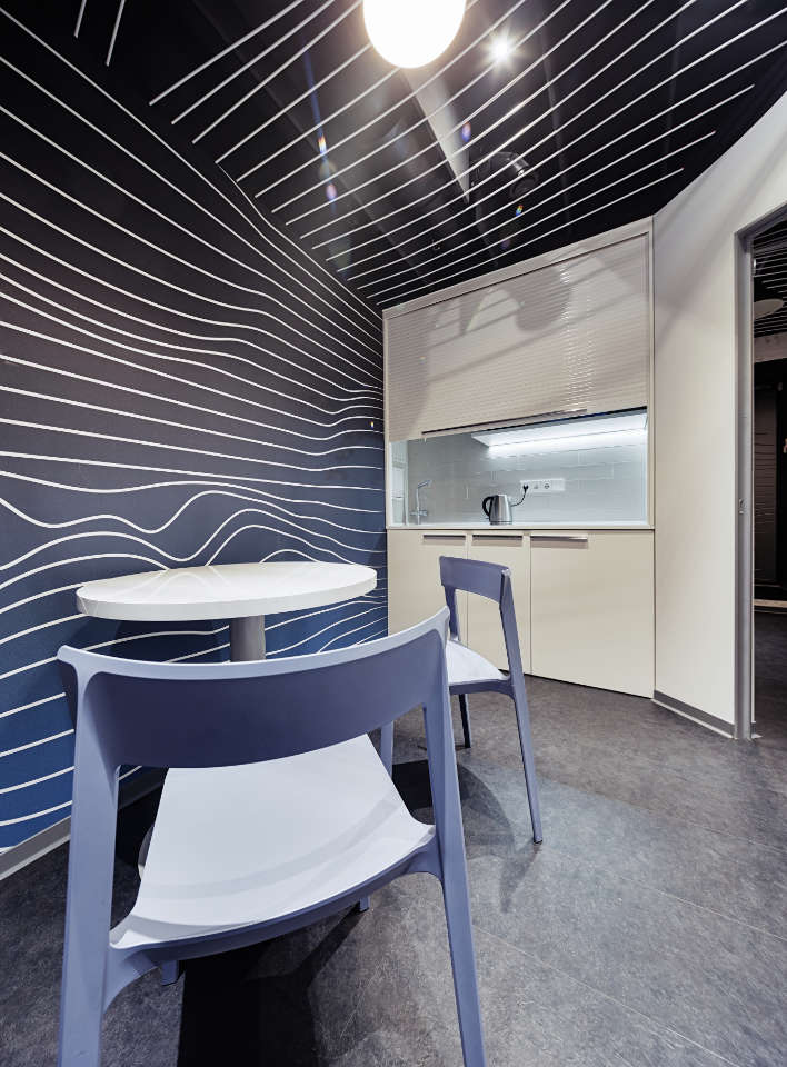 parametric office design kitchen
