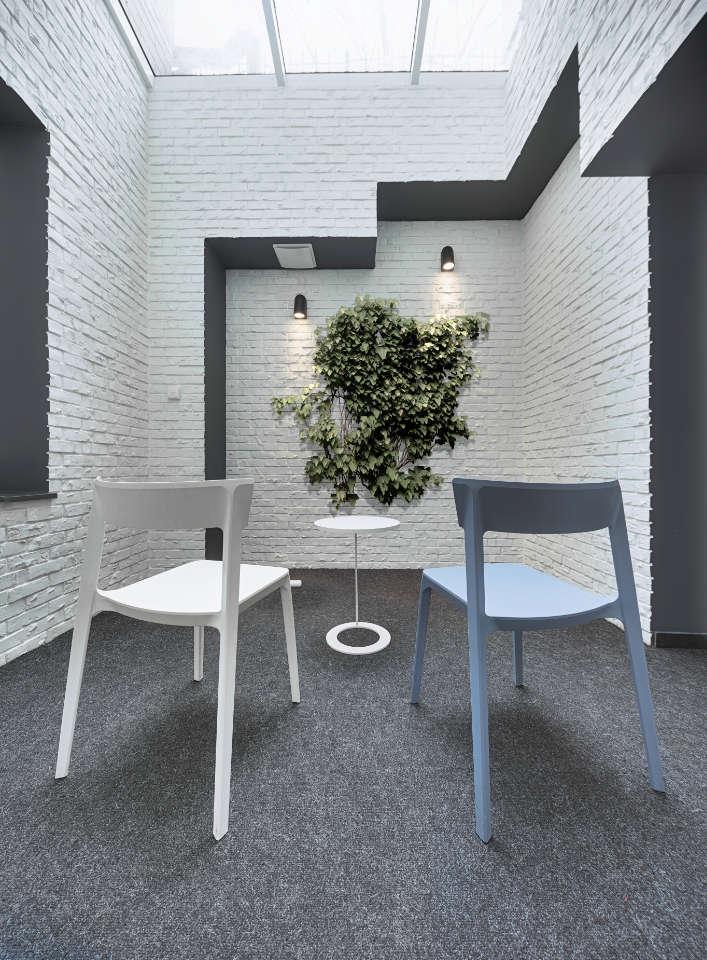 atrium for relax parametric office Kyiv Ukraine