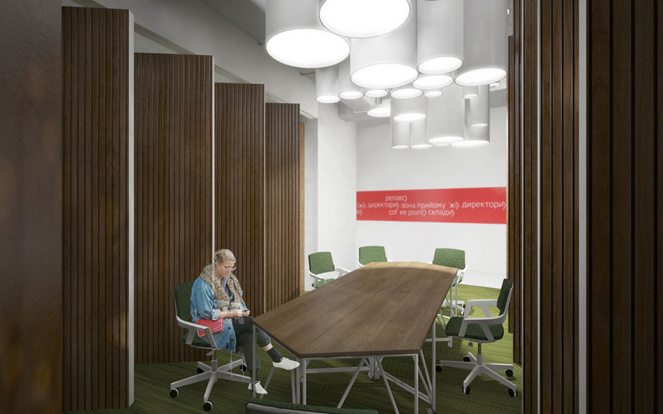 module meeting room grocery store office