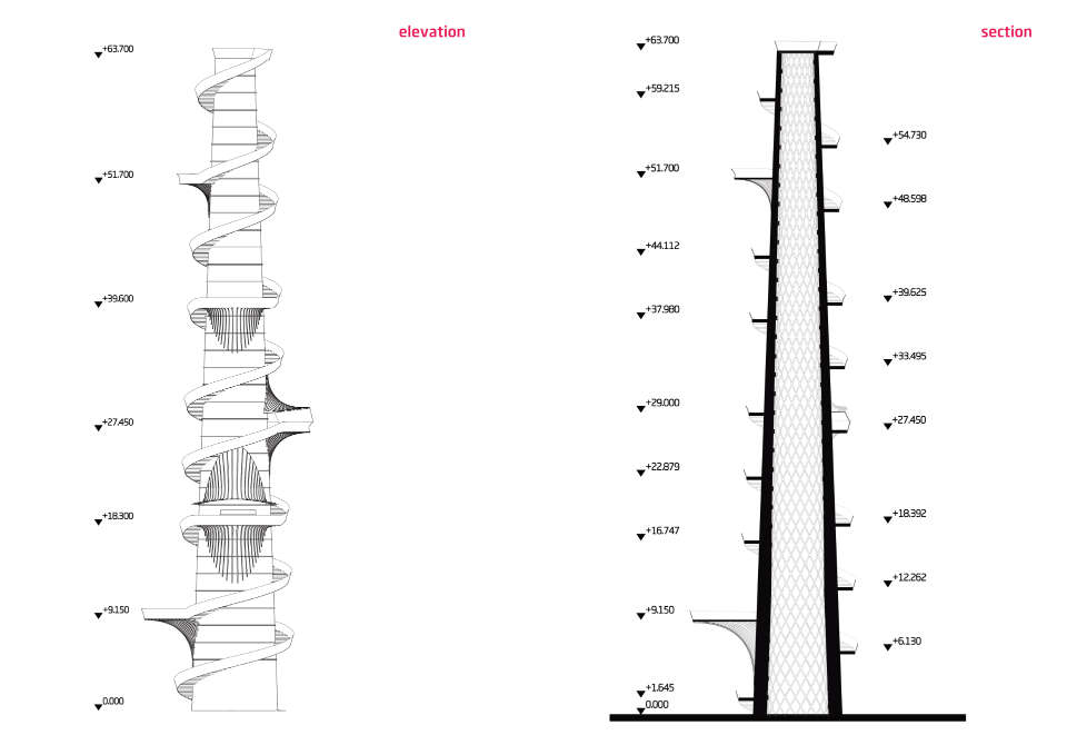 architetctural proposal unit city tower