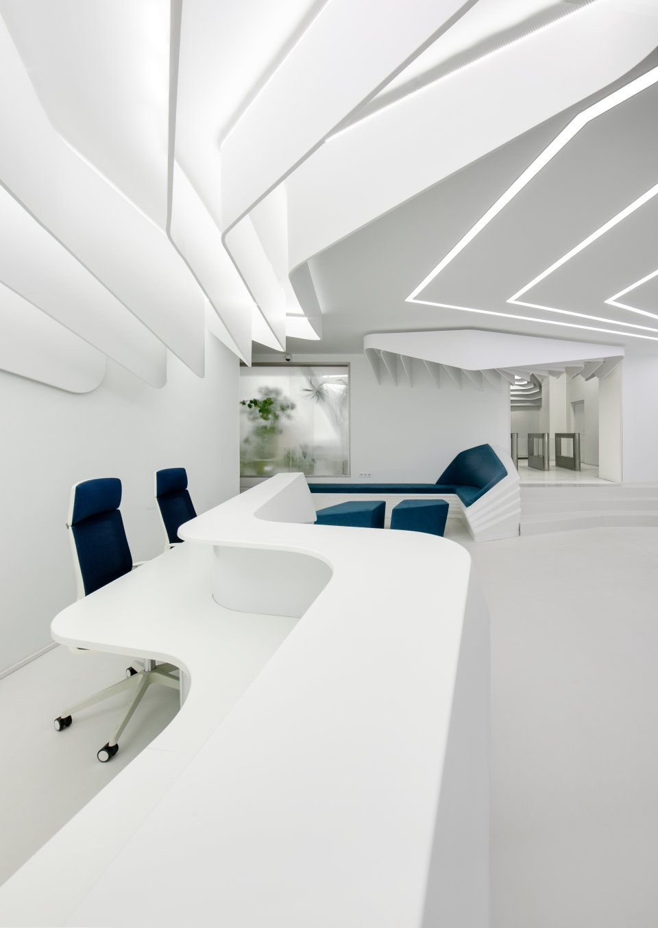 fluid reception in parametric office kyiv