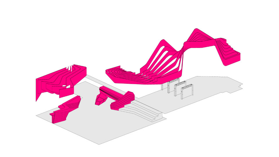 scheme of parametric structure in contemporary interior