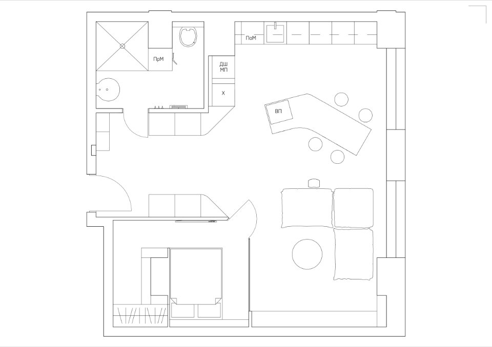 black octopus appartement plan