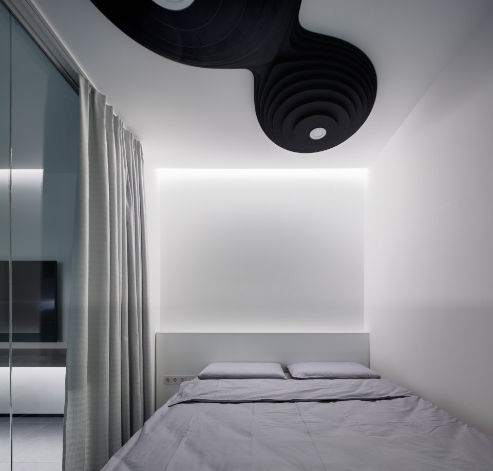 black octopus bedroom design