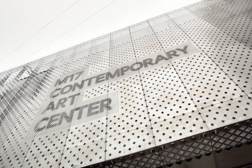 M17 contemporary art center parametric facade close up