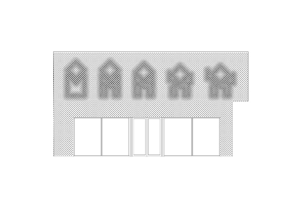 perforated parametric facade drawing m17 cac
