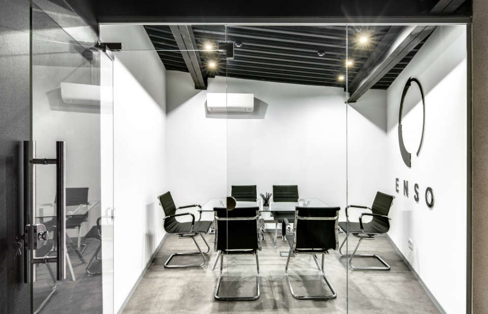 conference room in poetica office