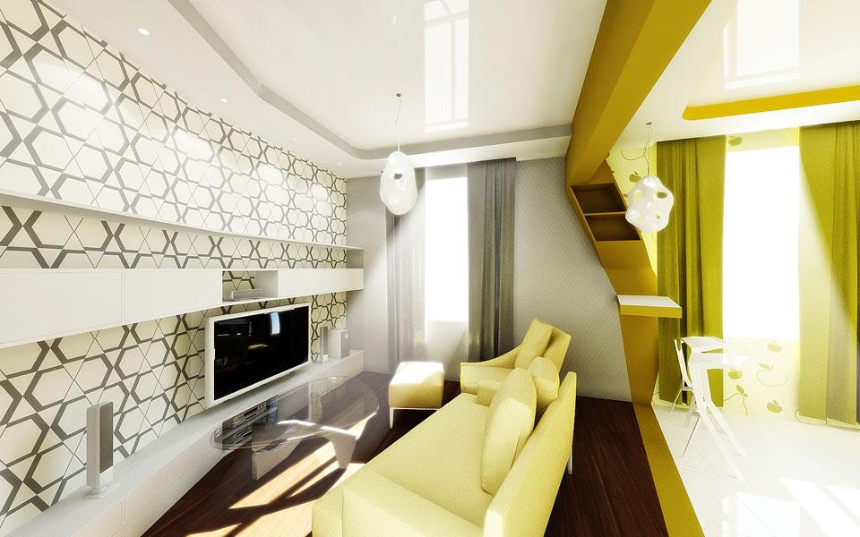 диаграмма вороного в дизайне интерьера квартиры