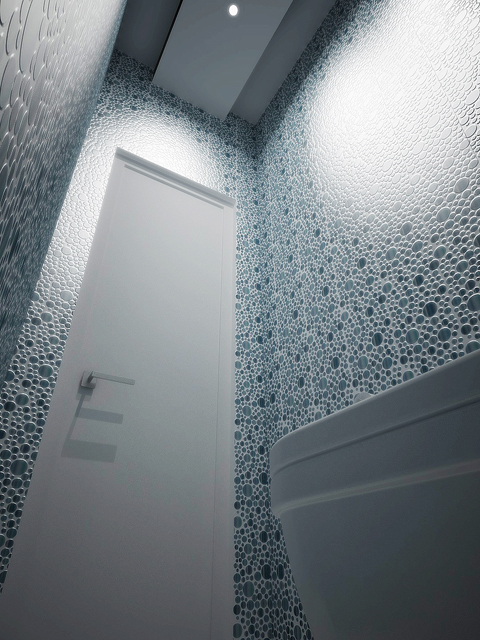 интерьер московского санузла (туалета)
