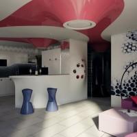 Щупальца осьминога. Интерьер трехкомнатной квартиры в Киеве