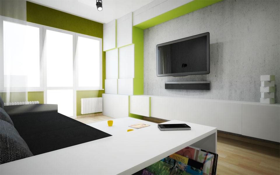 дигитальная архитектура - современный проект интерьера, мебели
