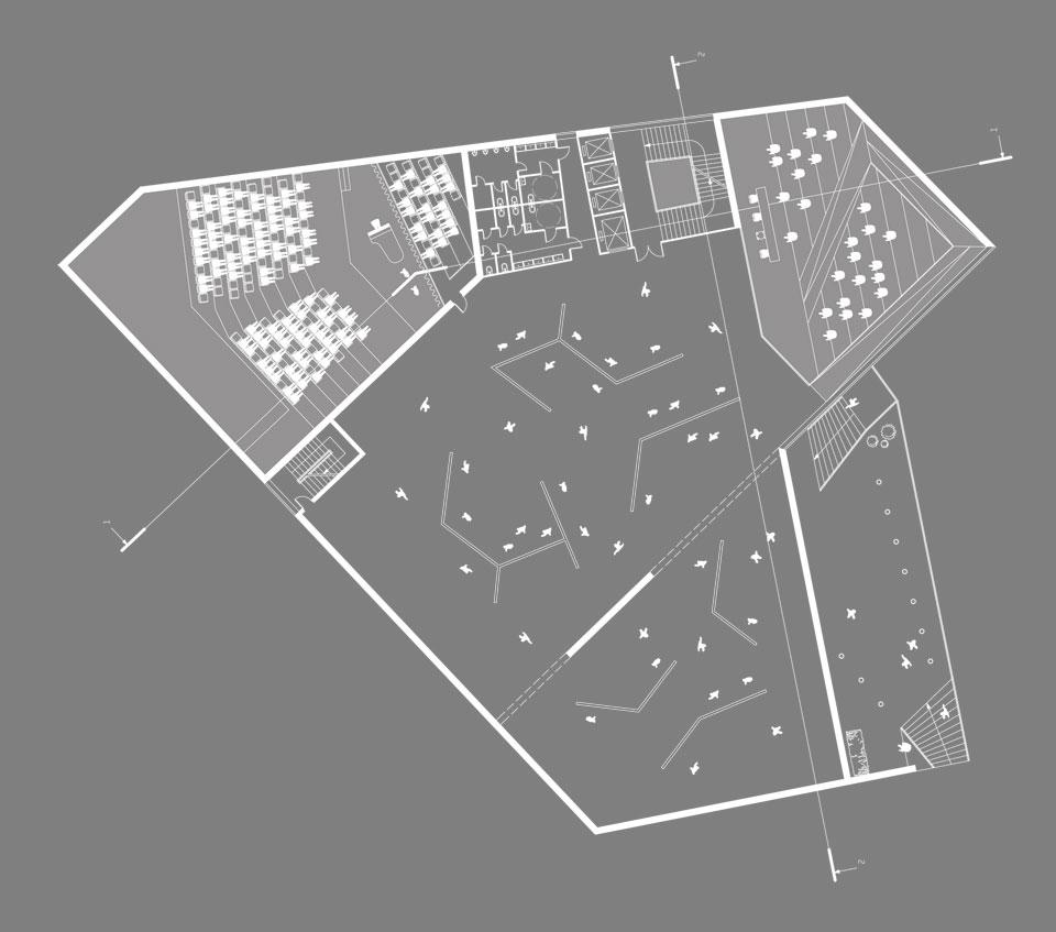 план первого этажа - архитектурный конкурс андреевский