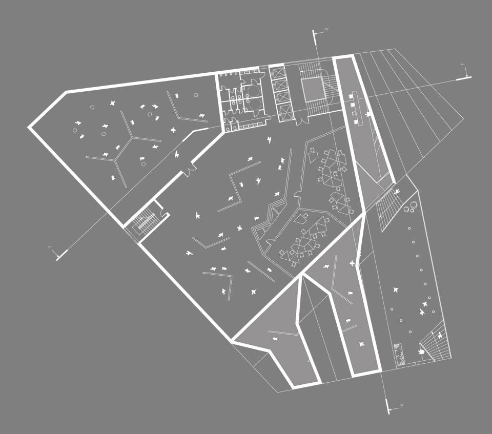 андреевский спуск - второй этаж конкурсного проекта