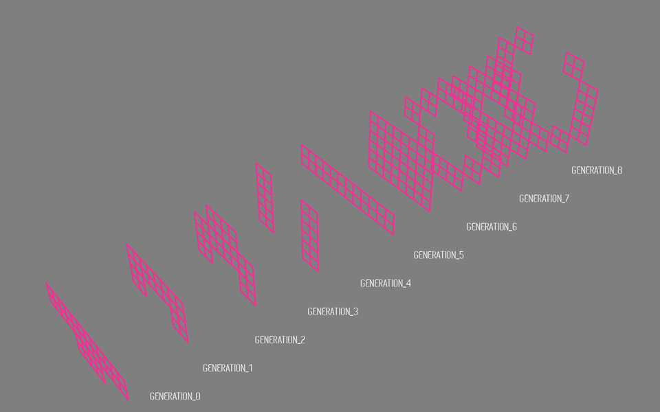 клеточные автоматы:  генеративная архитектура музея в киеве