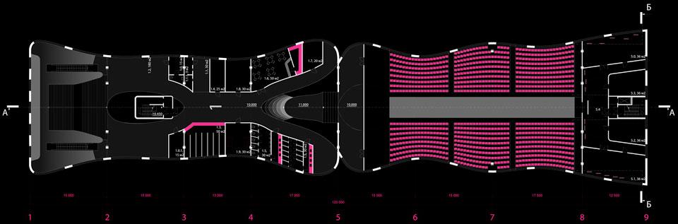 параметрическая архитектура: план музея вднх