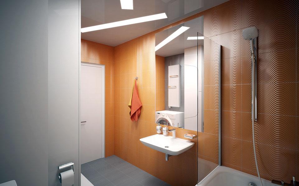 параметрическая архитектура ванной комнаты украина