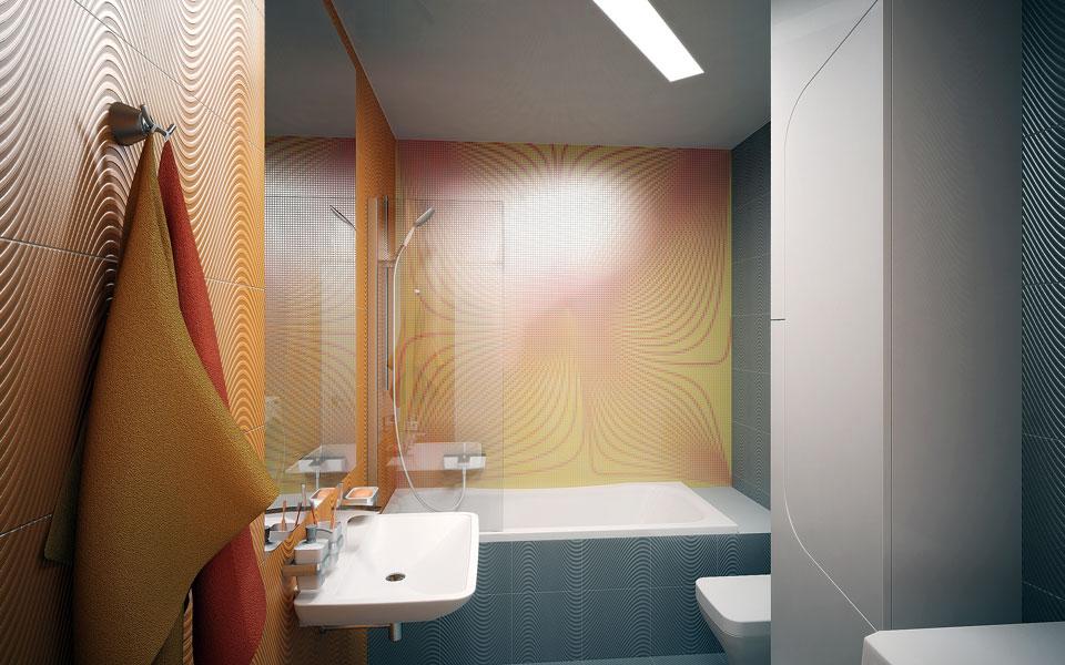 дигитальный дизайн - ванная комната в киеве
